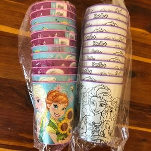 Disney | Plastic Party Favor Frozen Elsa Ana Cups